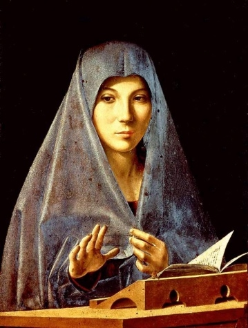 Antonello da Messina. Virgin Annunciate