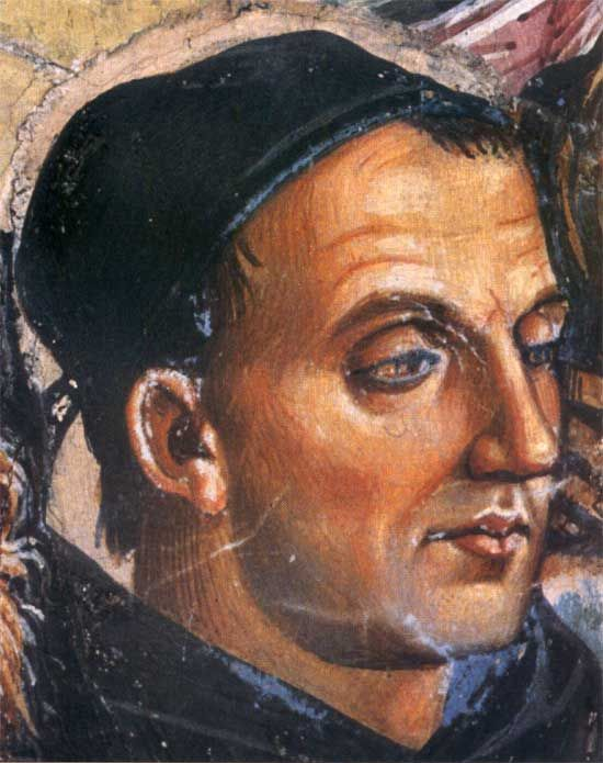 Luca Signorelli, Fra Angelico, fragment, c.1501
