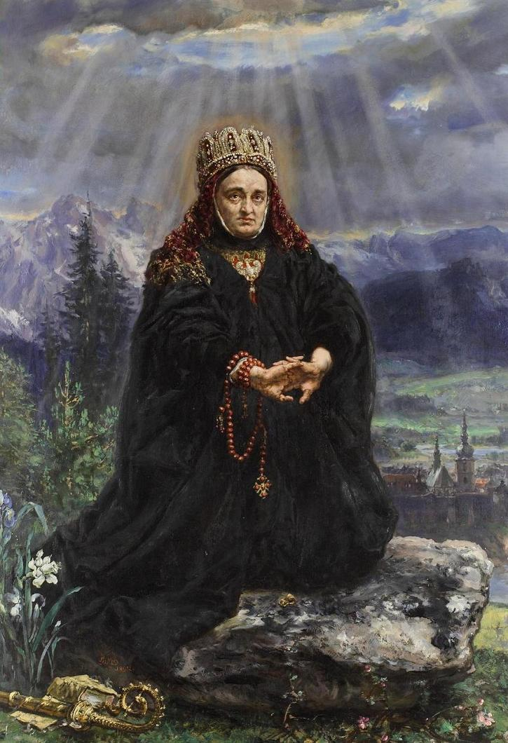 Jan Matejko, św. Kinga